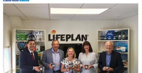Leicestershire MP Alberto Costa visits success story Lifeplan