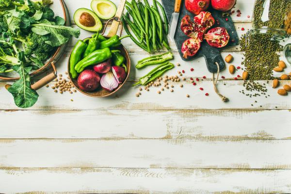 Six surprising benefits of a vegan diet