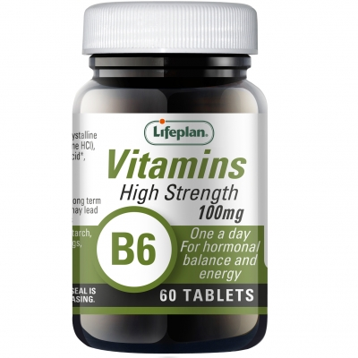Vitamin B6 Pyridoxine 100mg x 60 Tablets