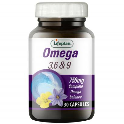 Omega 3, 6 & 9 x 30