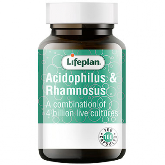 Acidophilus & Rhamnosus Supplements x 100 Capsules