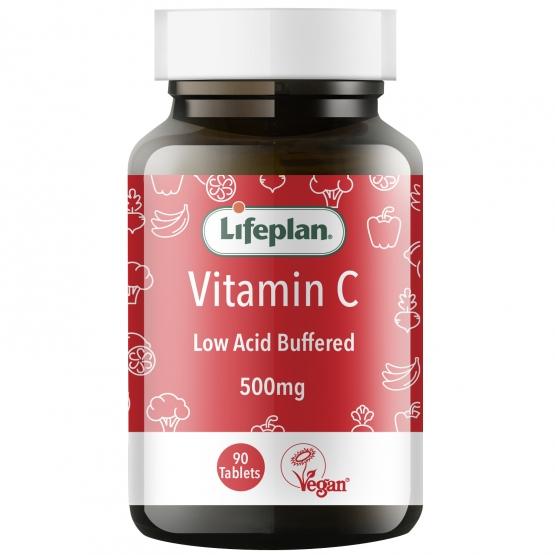 Buffered Vitamin C 500mg x 90 Tablets