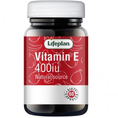 Vitamin E 400iu x 60