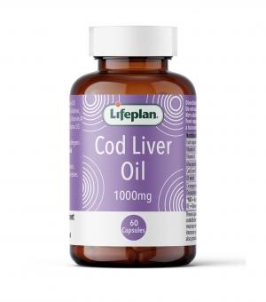 Cod Liver Oil 1000mg x 60