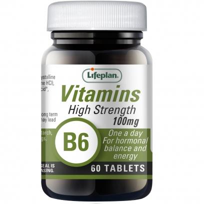 Vitamin B6 Pyridoxine 100mg x 60