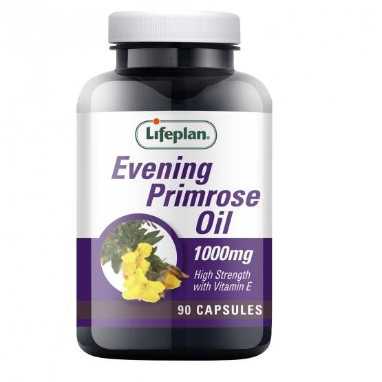 Evening Primrose Oil 1000mg Supplement x 90 Capsules
