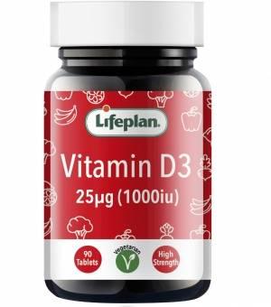 Vitamin D3 1000IU x 90