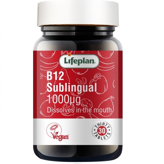 Vitamin B12 1000mcg x 30 Tablets