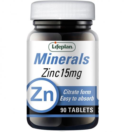 Zinc Citrate 15mg x 90 Tablets