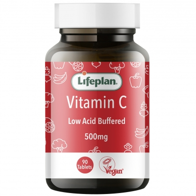 Buffered Vitamin C 500mg x 90 Tablets