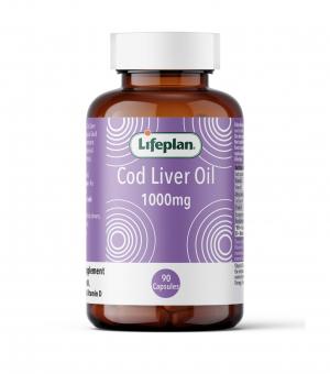 Cod Liver Oil 1000mg x 90