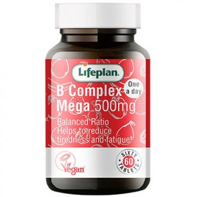 Vitamin B Complex (Mega) x 60 Tablets