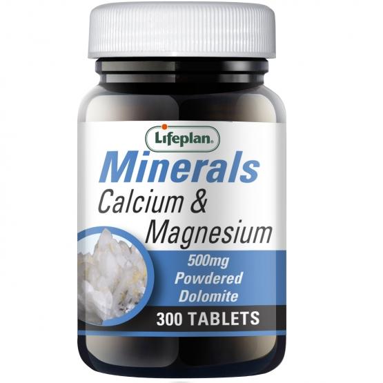 Calcium & Magnesium 500mg 300's
