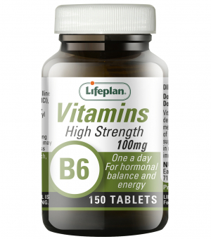 Vitamin B6 Pyridoxine 100mg x 150