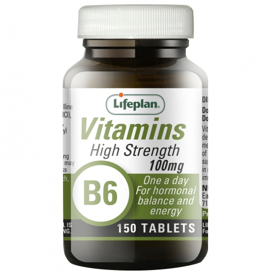 Vitamin B6 Pyridoxine 100mg x 150 Tablets