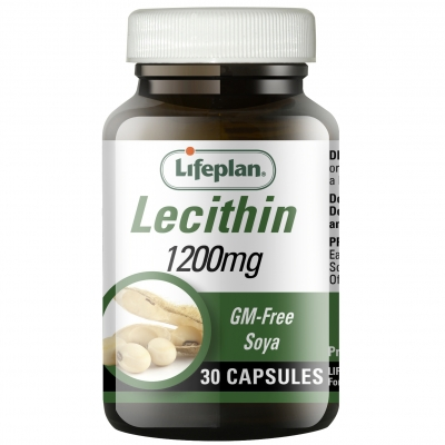 Lecithin 1200mg x 30 Capsules