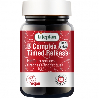 Vitamin B Complex Timed Release x 60 Tablets