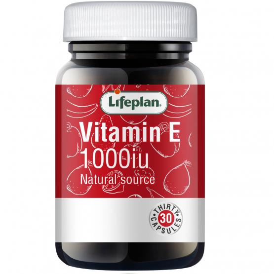Vitamin E 1000iu x 30 Capsules