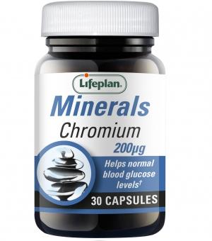 Chromium 200mcg x 30