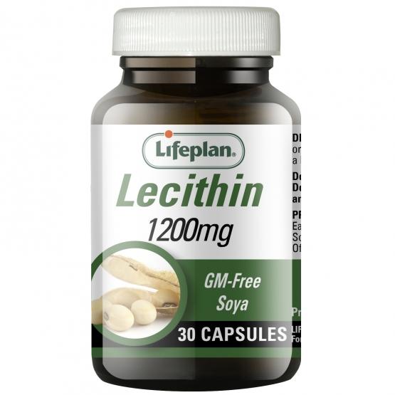 Lecithin 1200mg x 30 Capsules