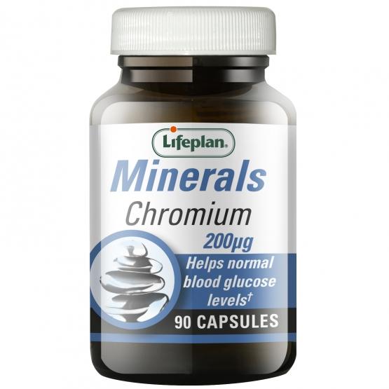 Chromium 200mcg x 90