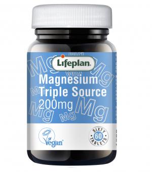 Magnesium Triple Source 200mg x 60