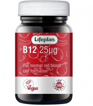 Vitamin B12 25mcg x 100
