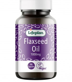 Flaxseed Oil Vegetarian Capsules x 90