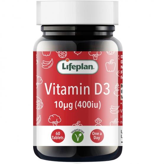 Vitamin D3 400IU x 60 Tablets