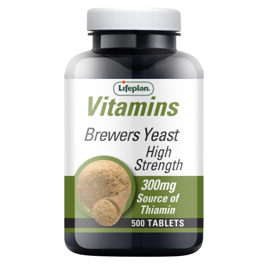 Brewers Yeast 300mg x500 Tablets