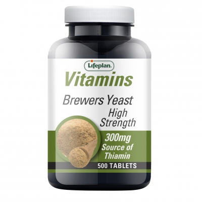 Brewers Yeast Tablets 300mg x500