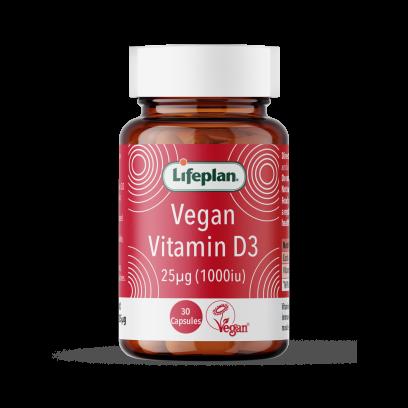 Vegan Vitamin D3, 1000iu, 30's