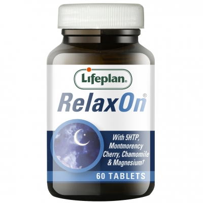 RelaxOn with 5HTP Supplements x 60 Tablets