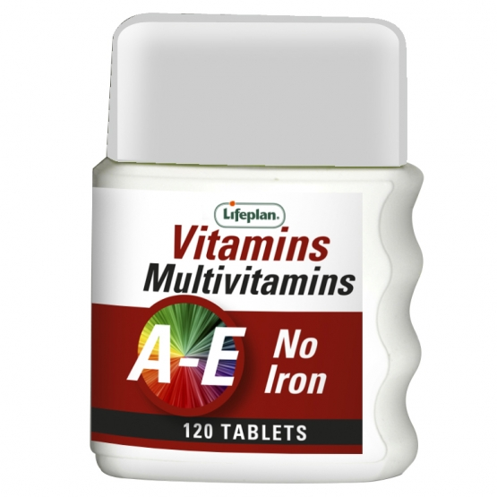 Multivitamins (No Iron) x 120