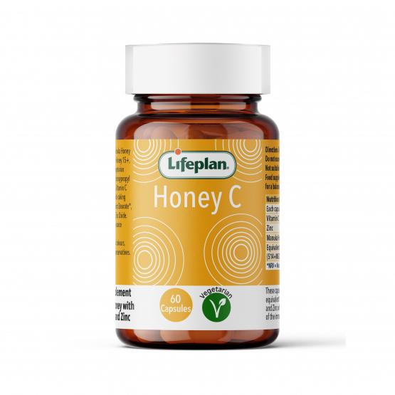 Lifeplan Honey C Vitamins x 60 Capsules