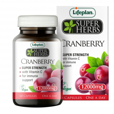 Lifeplan Super Herbs Cranberry 12000mg x 60