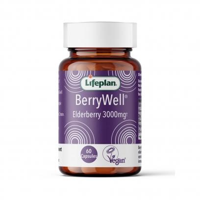 BerryWell Elderberry Capsules x 60