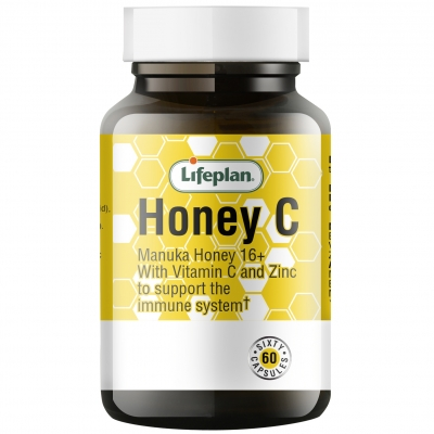 Lifeplan Honey C Vitamins x 60 Capsules