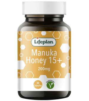 Lifeplan Manuka 15+ capsules x 30s