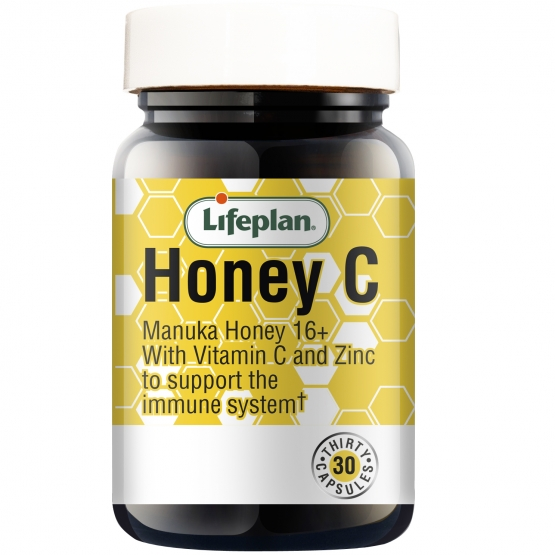 Lifeplan Honey C capsules x 30