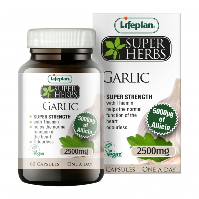 Lifeplan Super Herbs Garlic 2500mg x 60
