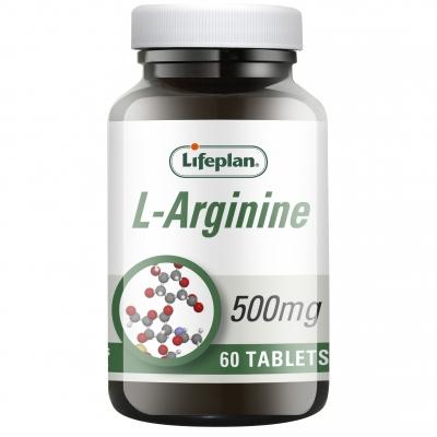 L-Arginine x 60 Tablets