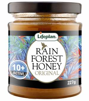 Rainforest Honey Active 10+ 227g