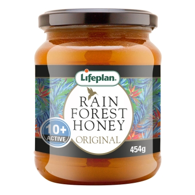 Rainforest Honey Active 10+ 454g