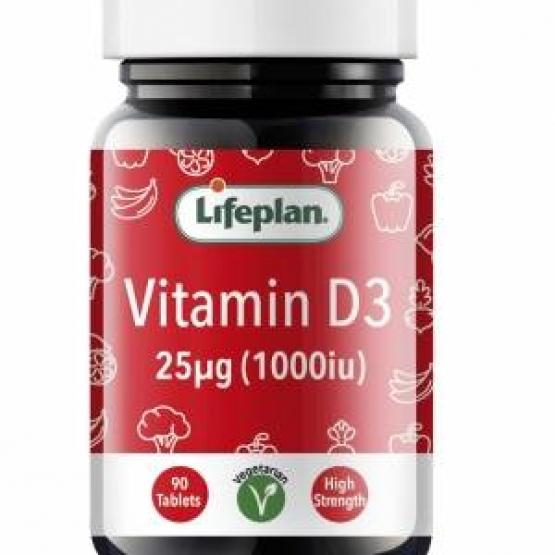 Vitamin D 1000IU x 90