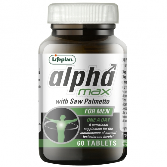Alpha Max with Saw Palmetto x 60