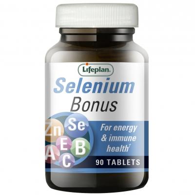 Selenium Bonus Supplement x 90 Tablets