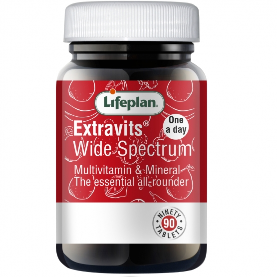 Extravits x 90 Tablets