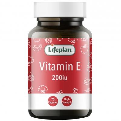 Vitamin E 200iu x 75