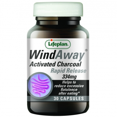 WindAway Activated Charcoal 334mg 30's